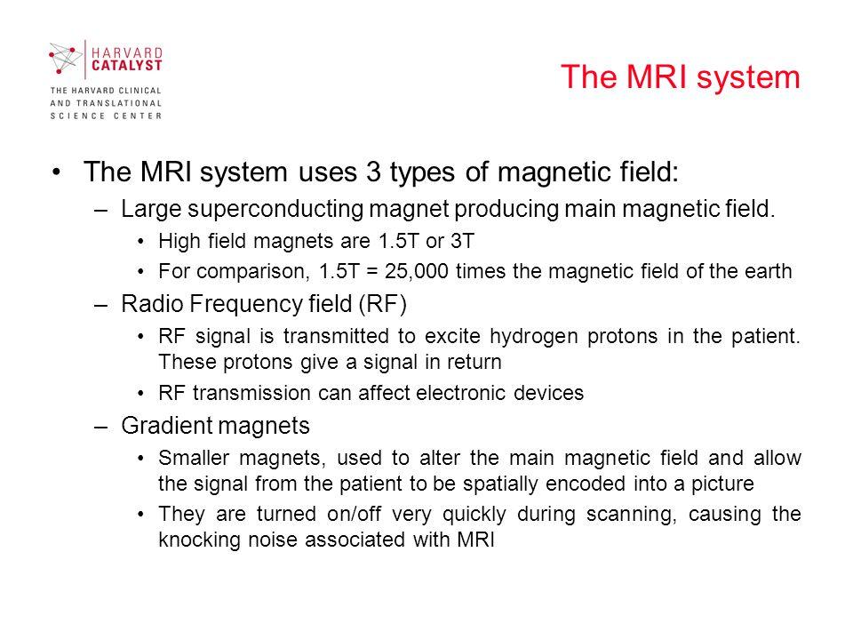 MRI site restriction access