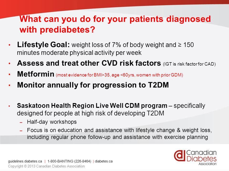 Canadian Diabetes Association 2013 Clinical Practice ...