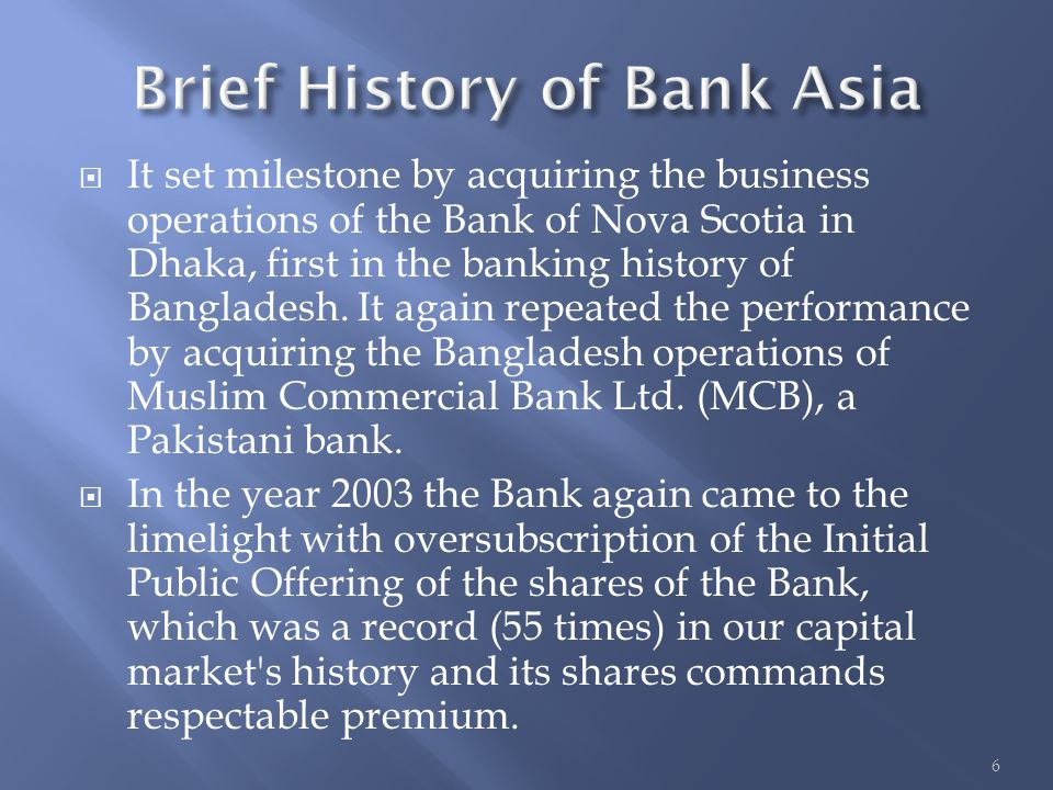 operation of commercial banks in bangladesh Report on - united commercial bank ltd  united commercial bank ltd bangladesh  is one of the largest commercial banks in bangladesh in terms of assets,.