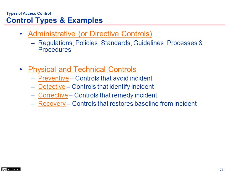 CISSP® Common Body of Knowledge Review: Access Control Domain ...