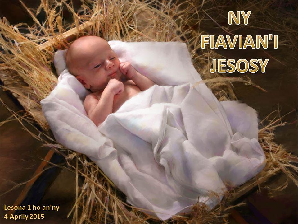 NY FIAVIAN I JESOSY Lesona 1 ho an ny 4 Aprily 2015