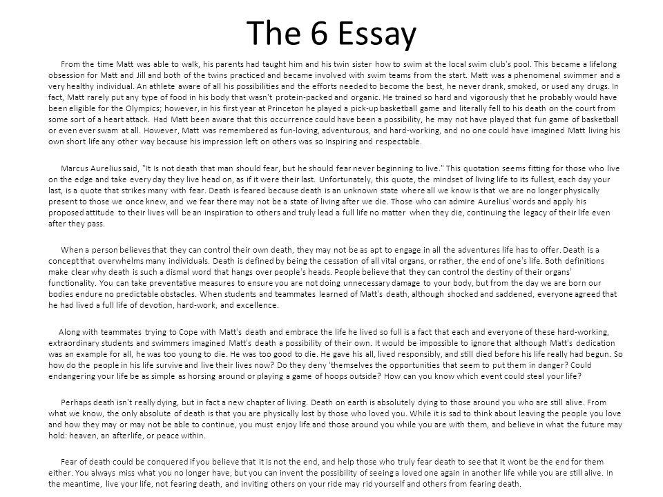 essay exams 101