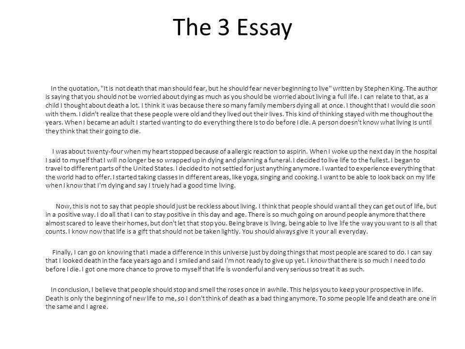 eng essay examination samples ppt video online  the 3 essay