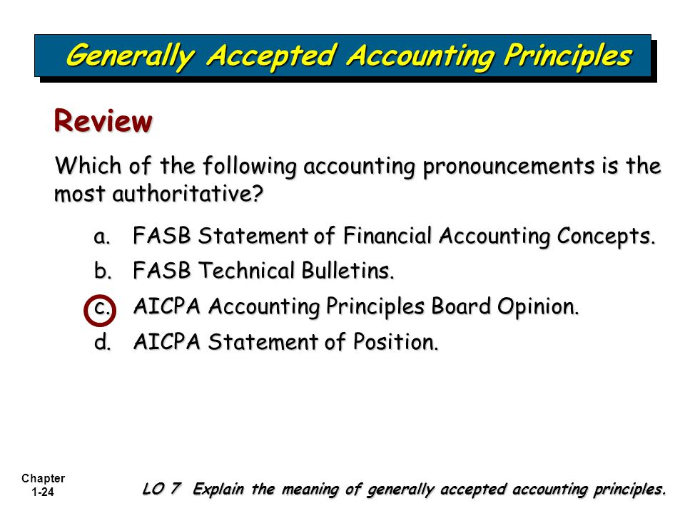 generally accepted accounting practice in industry Check your understanding of generally accepted accounting principles in this quiz and worksheet combo use these tools to check your understanding.