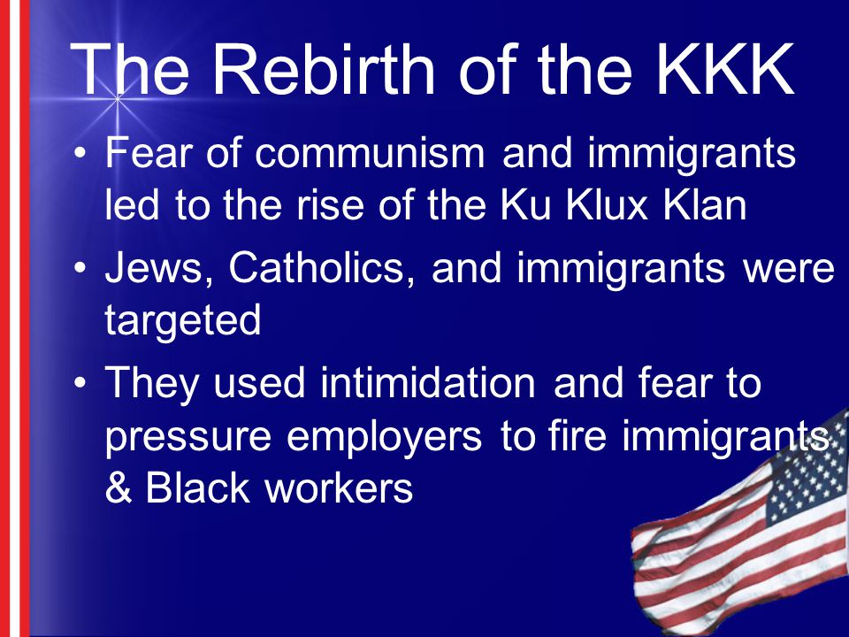 the emergence of the ku klux klan and the changes it underwent Definition of chattel slavery in the legal  these changes all added up to large profits for  fugitive slave act of 1850 indenture ku klux klan ku klux klan.