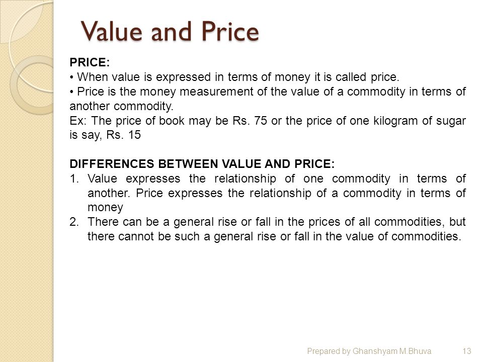money and prices relationship tips