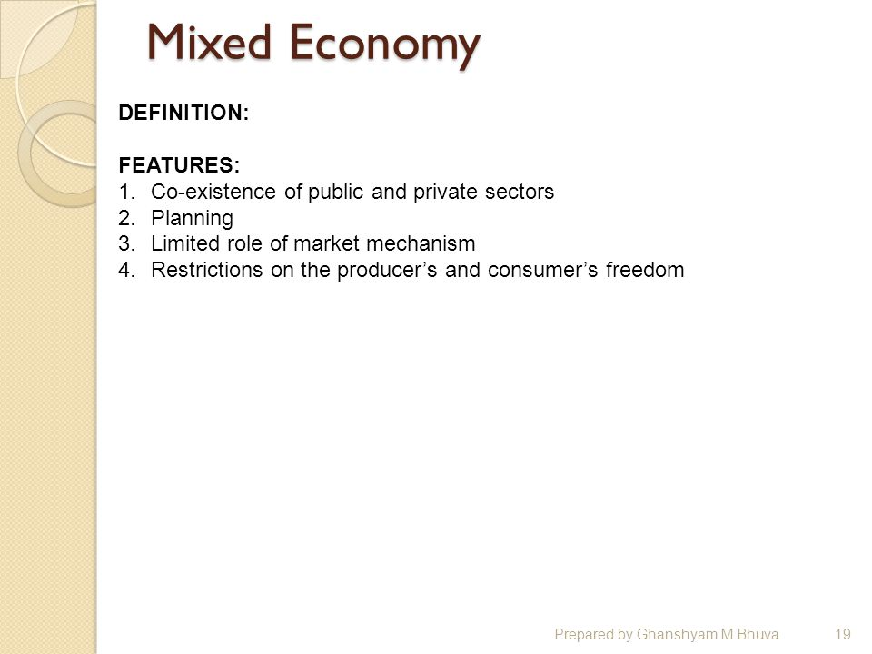 an introduction to the distribution of income in a free market economy Ownership is central to how the economic system operates yet the   introduction  ownership, control and the distribution of income  despite the  last three decades of 'capitalism unleashed' and free market globalisation.