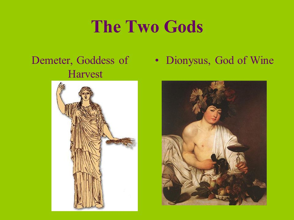 the two great gods of the earth summary Ancient greek philosophy  all things come to be from earth (f27), not the gods, although it is unclear whence came the earth  there are two paths that mortals .
