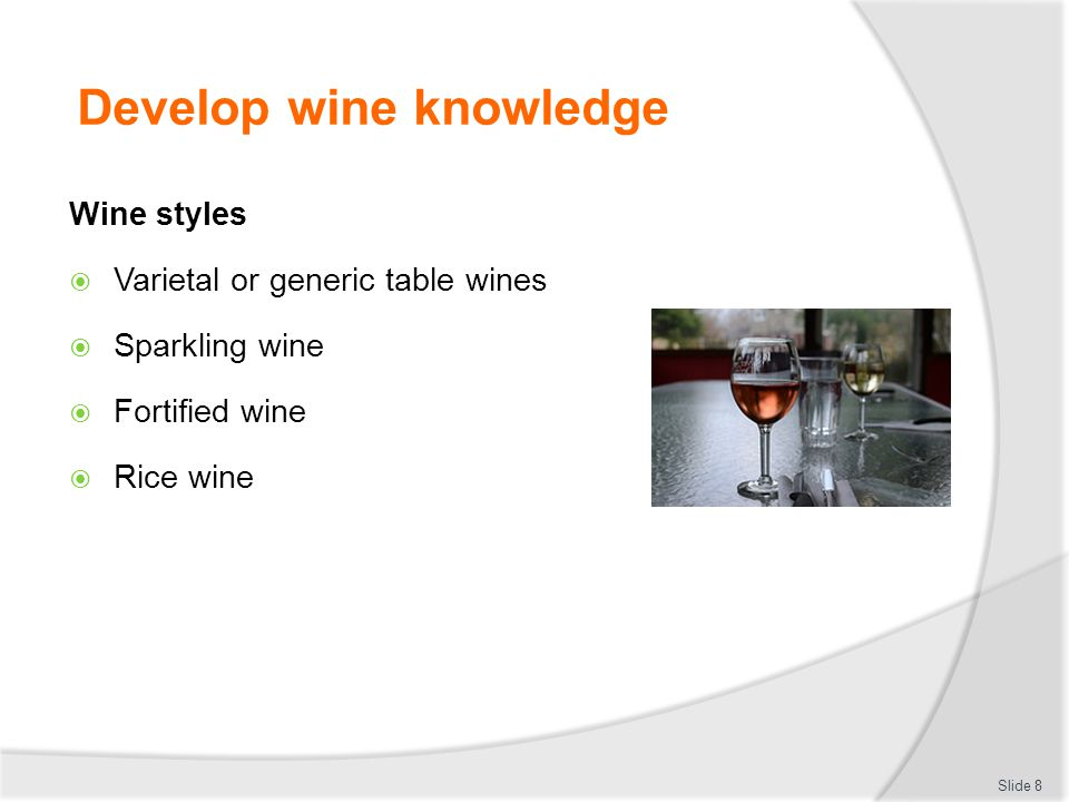 Serve a range of wine products ppt download - Difference between wine grapes and table grapes ...