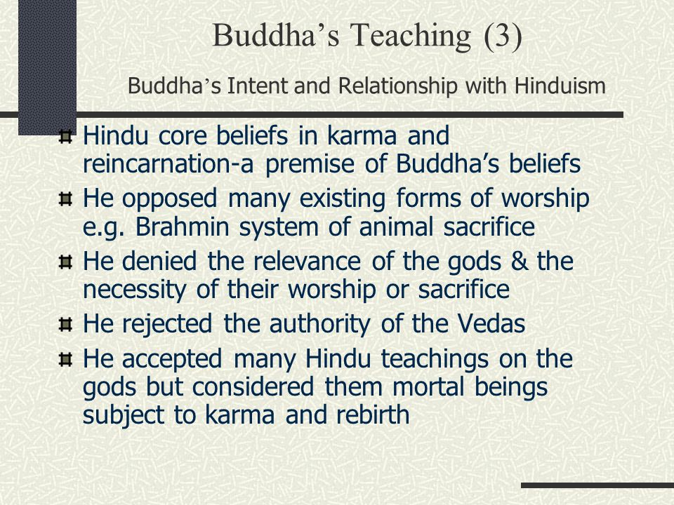 What Are The Central Teachings Of Hinduism And Buddhism - Lawteched