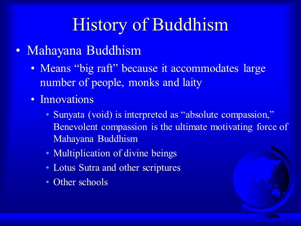 compassion in mahayana buddhism Learn about the essential practice of compassion in buddhism--a key and required element in the pursuit what is nondualism in mahayana buddhism.