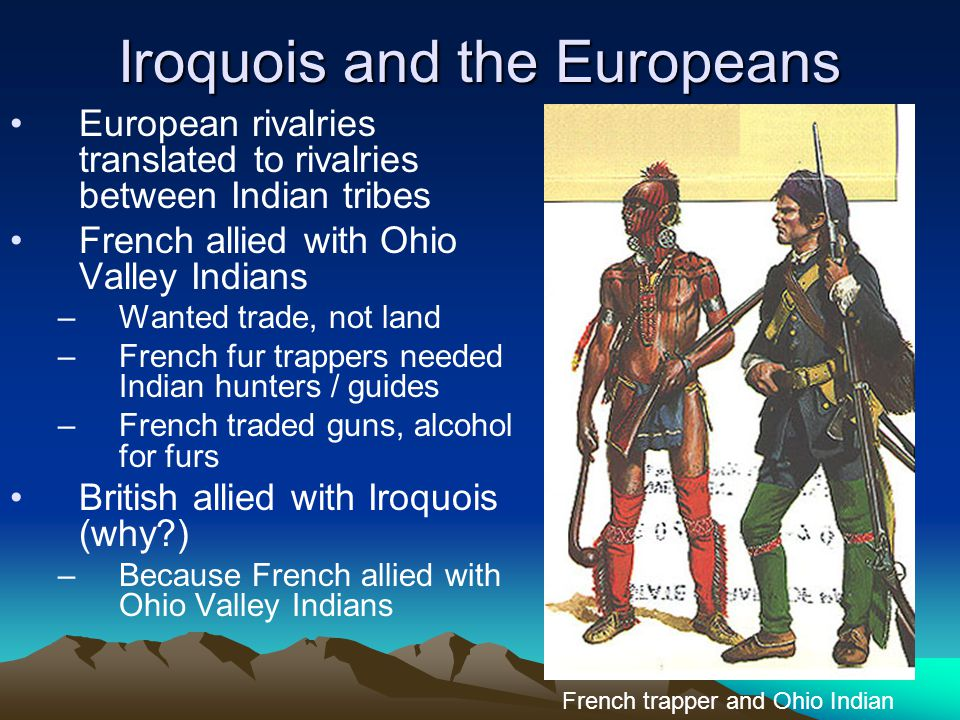 Iroquois and the Europeans