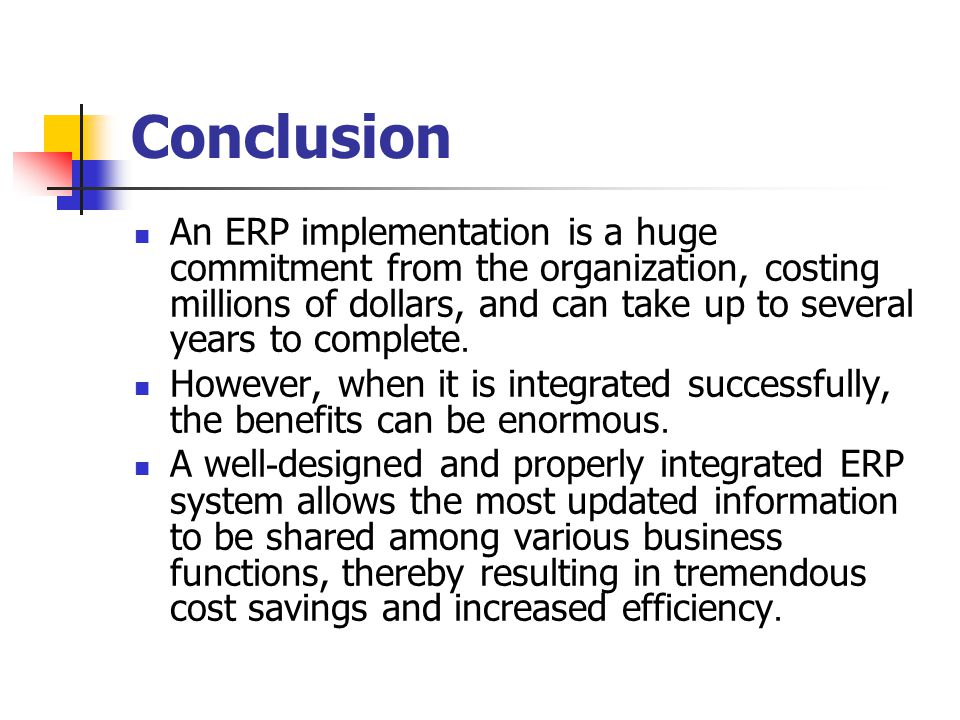 successful implementation of erp systems issues If you've ever implemented an enterprise resource planning (erp) system for your follow this list to ensure yourself a successful erp implementation 1 you'll want to make sure your it team has an extra session of training to know how to handle any tech problems that may arise in.