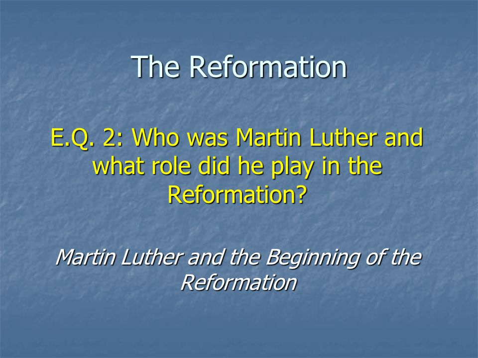 essays on the reformation in europe This summary presents an outline of the protestant reformation of the 16 century, the religious schism which split western christianity.