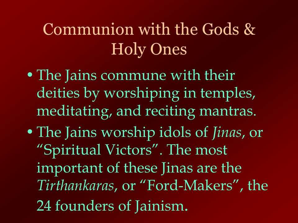 Communion with the Gods & Holy Ones