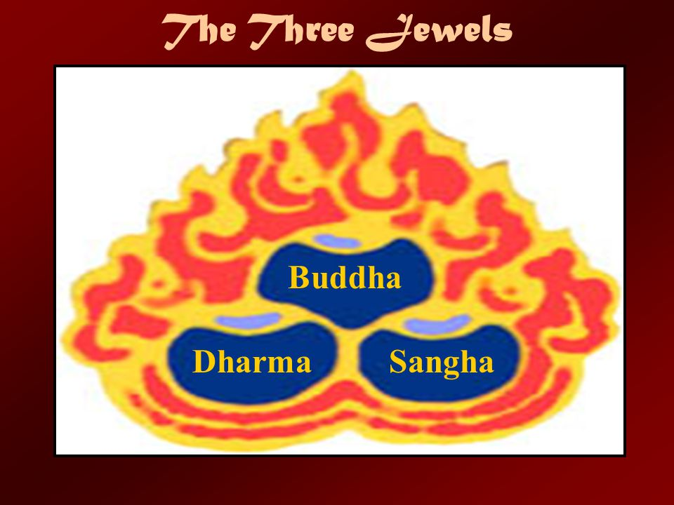 The Three Jewels Buddha Dharma Sangha