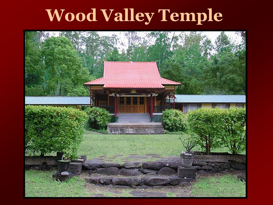 Wood Valley Temple