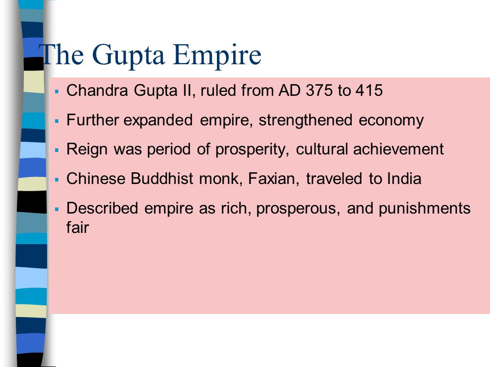 gupta empire development of science and Chandra gupta and his sons reunite much of northern india the empire holds off foreign armies until around 550 ce, a little more than 200 years after the empire began.