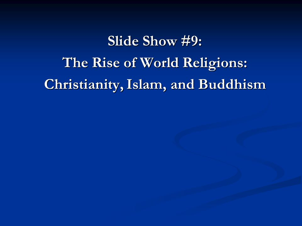 world religions report on buddhism Hinduism and buddhism - buddhism and hinduism are two of the world's most influential and greatest religions buddhism is a.