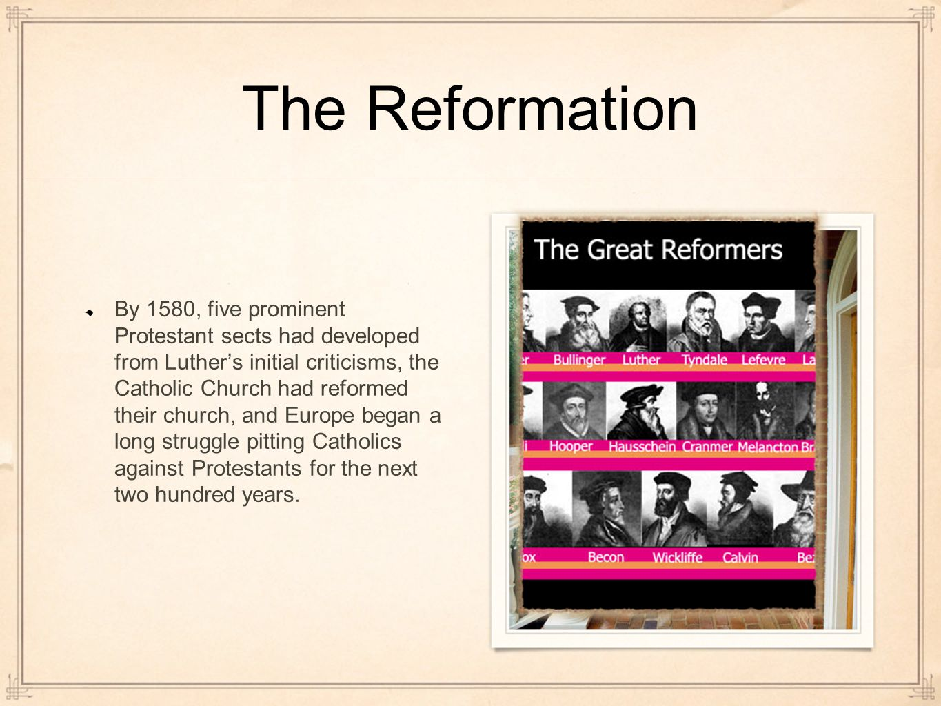 biographies of martin luther and john calvin the leaders of the protestant reformation John calvin, martin luther's successor as the preeminent protestant theologian, made a powerful impact on the fundamental doctrines of protestantism learn more about his life and career at biographycom.