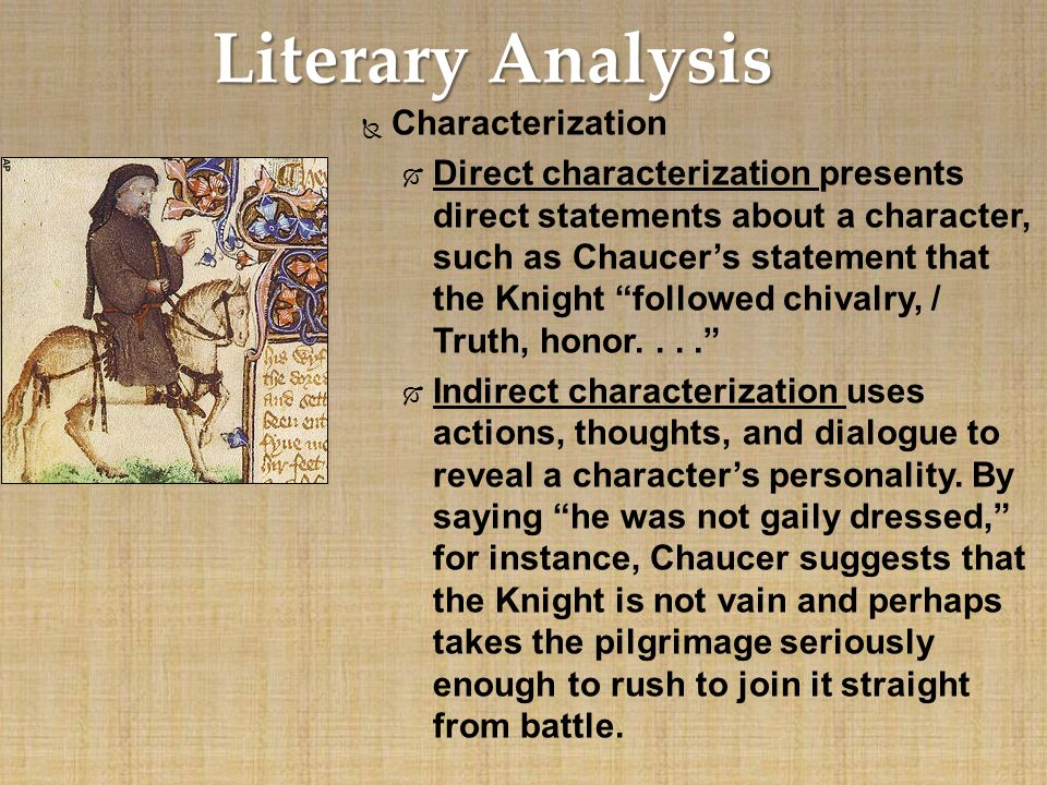an analysis of knight and the monk in the canterbury tales A quick synopsis of the canterbury tales and the general prologue the canterbury tales by geoffrey chaucer by is comprised of 24 tales, including prologues for most.