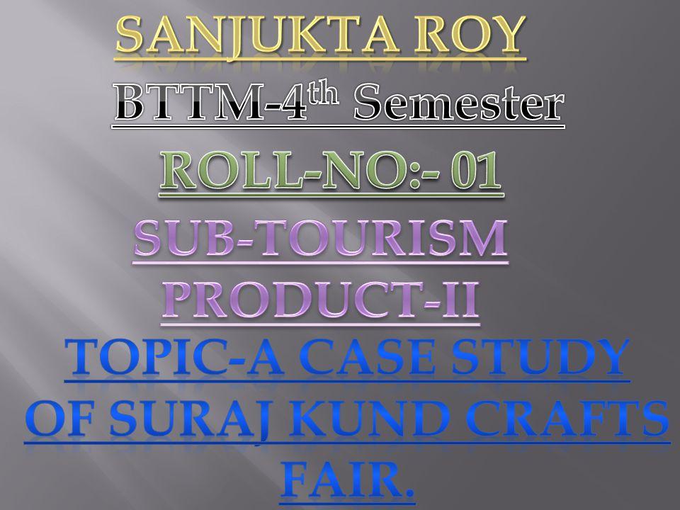 SUB-TOURISM PRODUCT-II