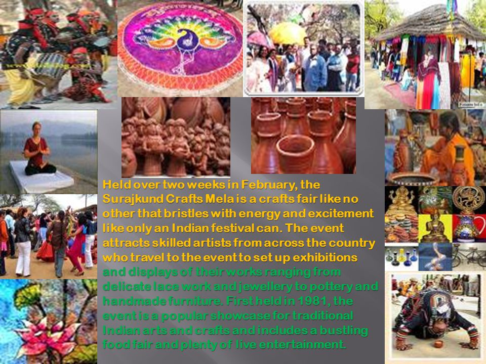 Held over two weeks in February, the Surajkund Crafts Mela is a crafts fair like no other that bristles with energy and excitement like only an Indian festival can.
