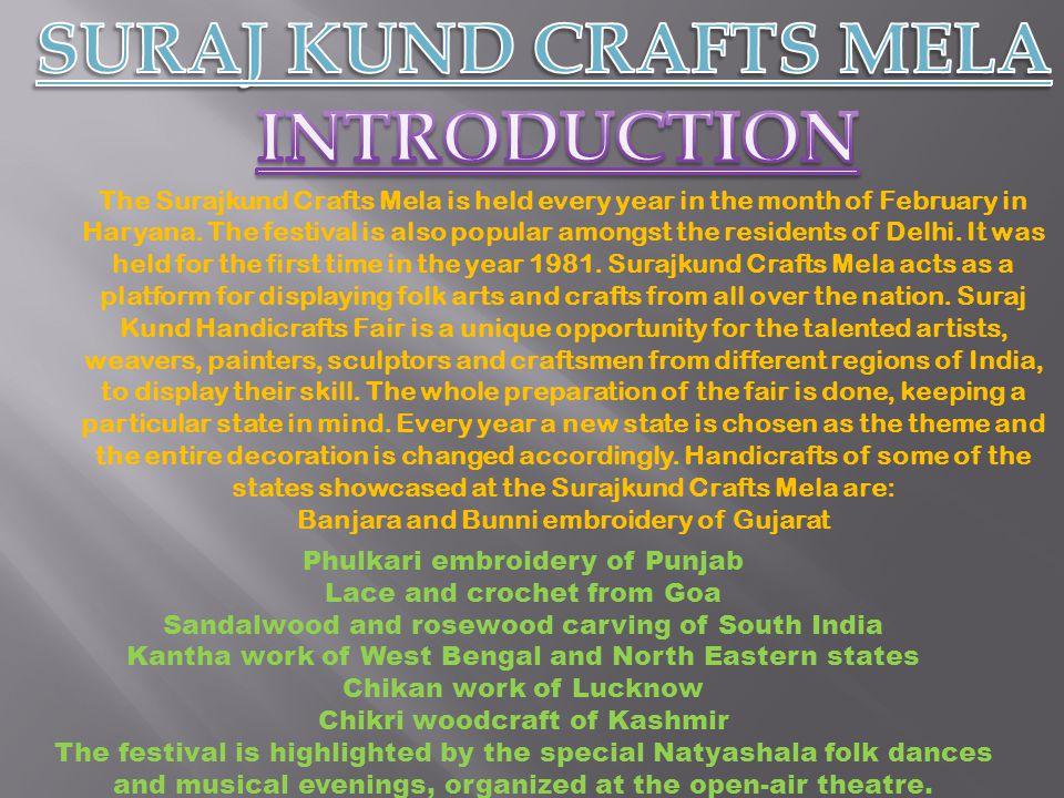 SURAJ KUND CRAFTS MELA INTRODUCTION