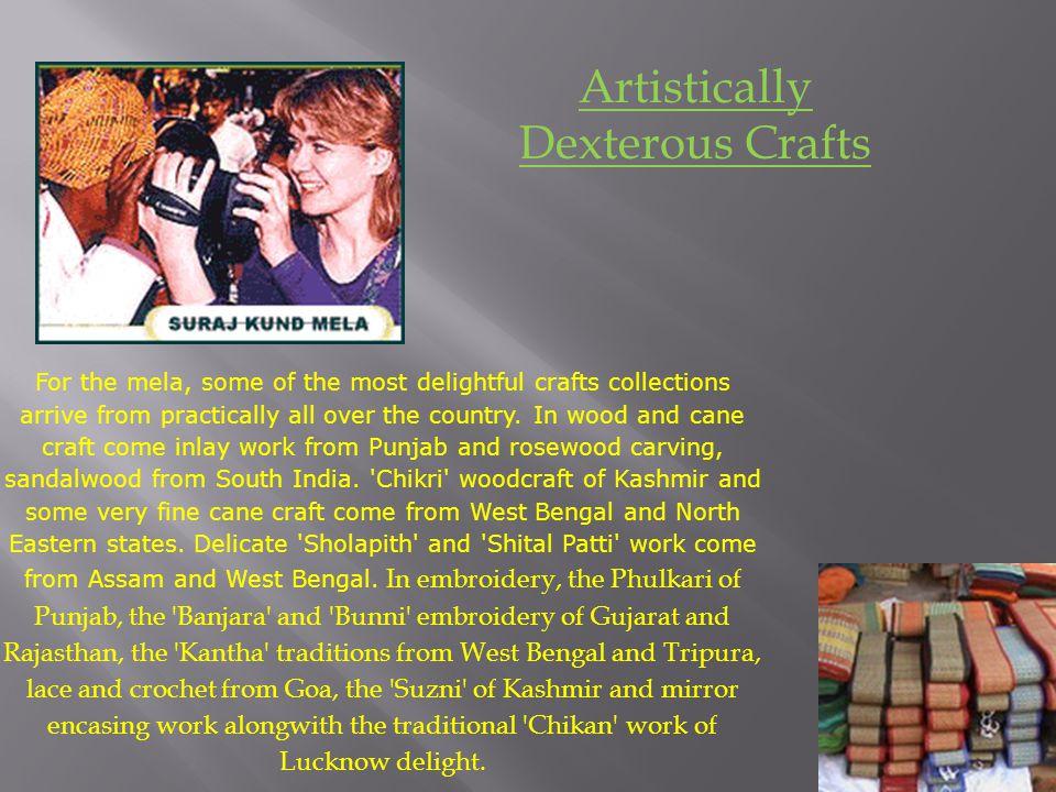 Artistically Dexterous Crafts
