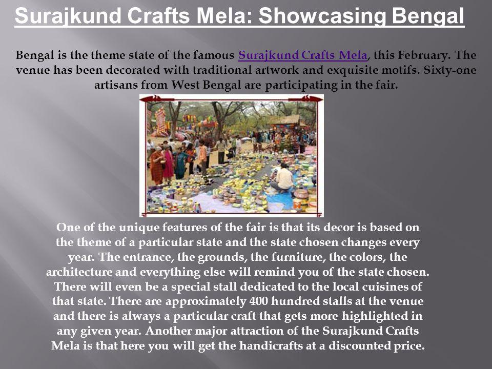 Surajkund Crafts Mela: Showcasing Bengal