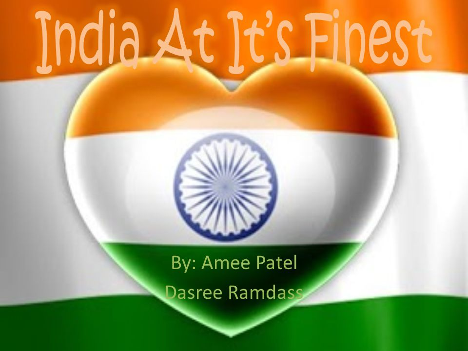 By: Amee Patel Dasree Ramdass