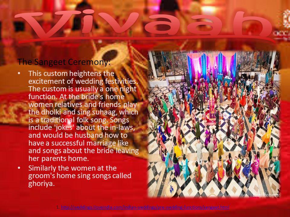 Vivaah The Sangeet Ceremony: