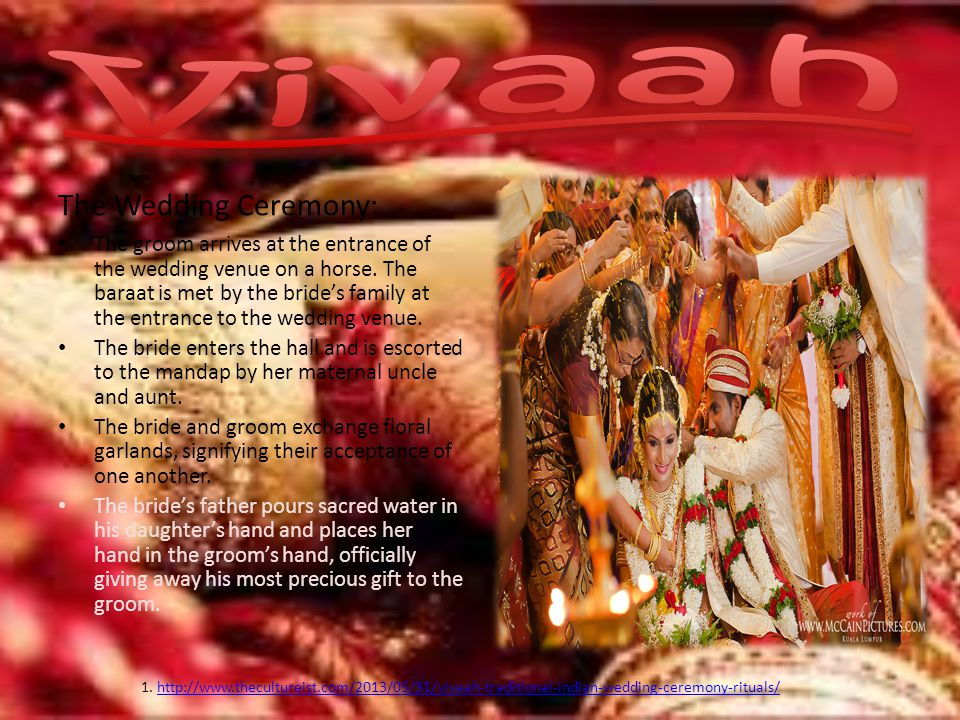 Vivaah The Wedding Ceremony: