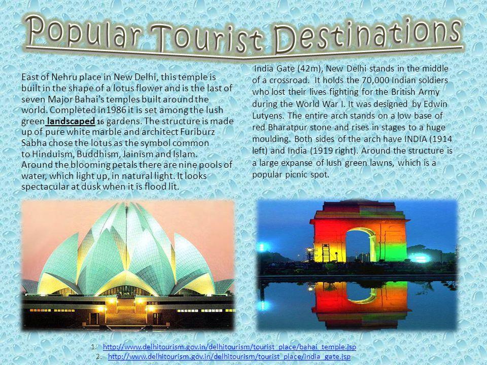 Popular Tourist Destinations