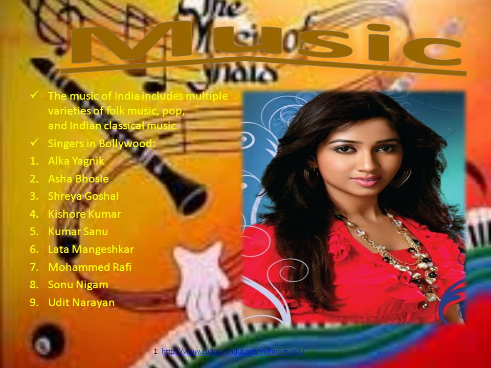 1. http://www.culturalindia.net/indian-music/