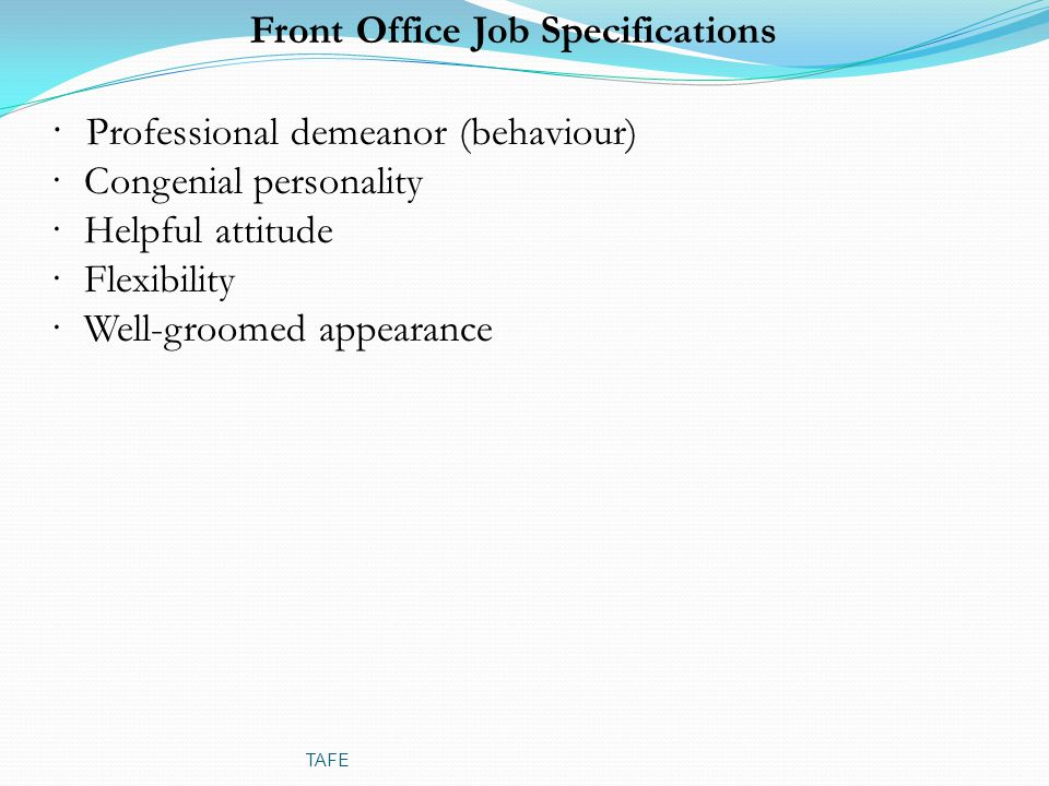 front office terminologies To start and run a business, you often need to understand business terms that may not be well defined in a standard dictionary our glossary of business terms.
