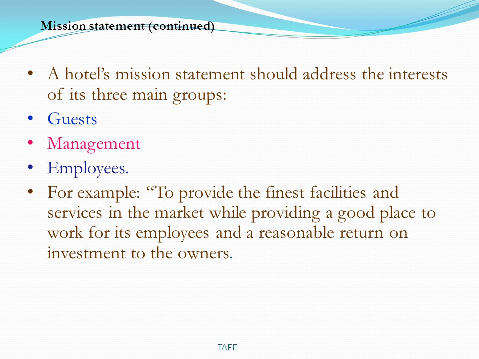 Asset Management Mission Statement Examples Images Example Cover