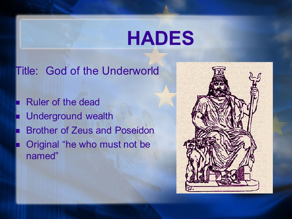 an analysis of hades as the richest god A formal analysis of one of  the greatest statue of the high renaissance from bernini: the rape of  persephone is up against the god of the underworld and.