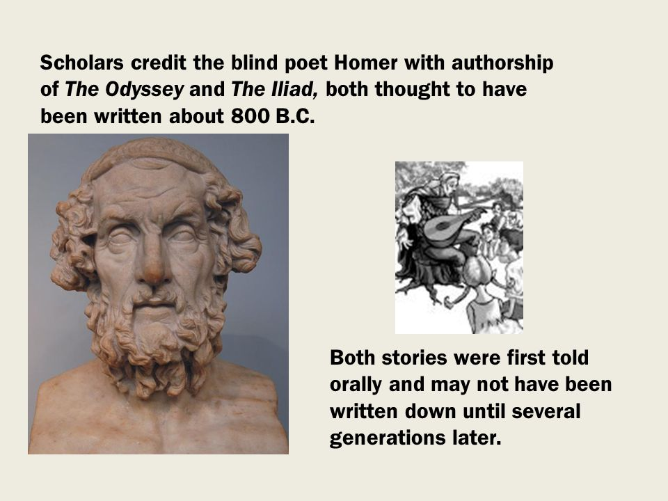 the heroic age in poems the illiad and odyssey Browse through homer's poems and quotes iliad and the odyssey and culture throughout the classical age and formed the backbone of humane education.