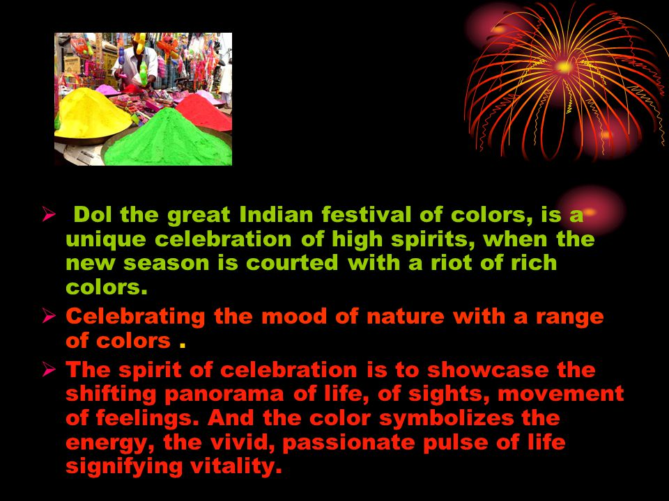 importance of festivals and celebrations in our daily life The importance of celebrating together by anchel krishna @anchelk every year from at the end of september our family enters a virtual daily celebrations are.