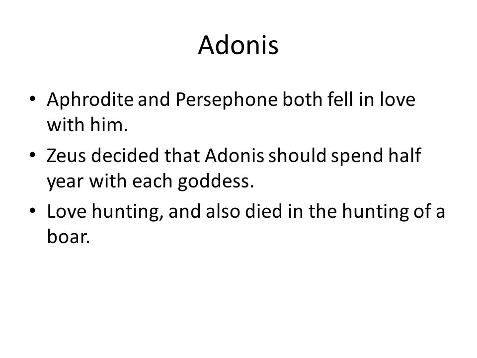 adonis and aphrodite relationship advice