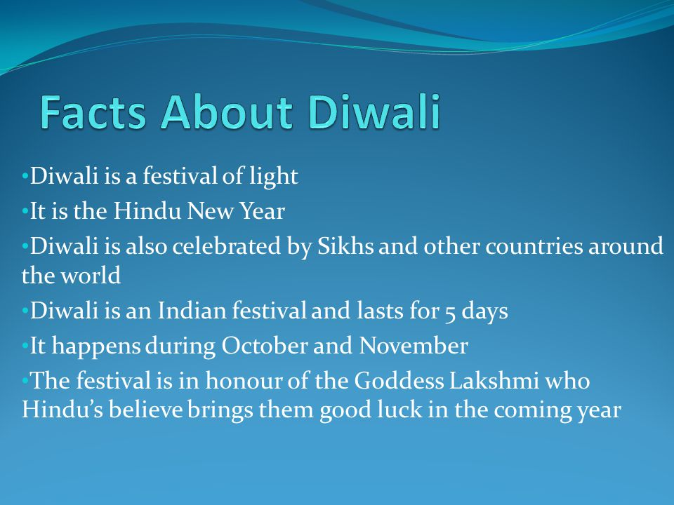 Diwali The Festival of Light.