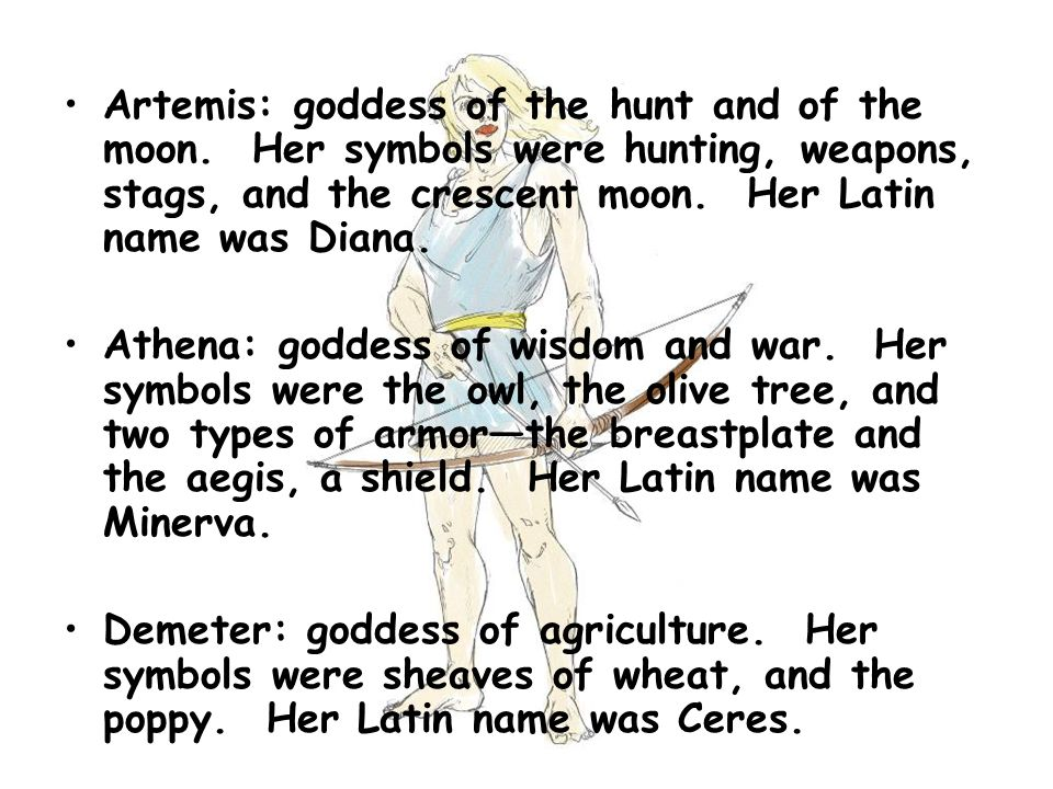 Pictures Of Artemis Goddess Of The Hunt Symbols Kidskunstfo