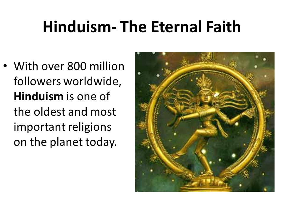 Chapter Lesson The Origins Of Hindu India Ppt Download - Which religion has the most followers worldwide