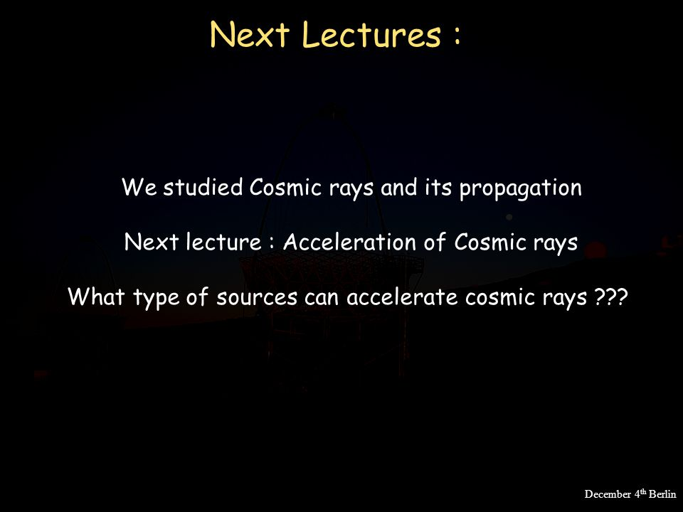 a history of the discovery of cosmic rays Centenary of cosmic ray discovery 100 years of cosmic rays: the anniversary of their discovery by vf hess some vignettes from cosmic ray history.