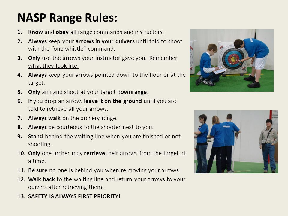 National Archery In The Schools Program Shooting Tips