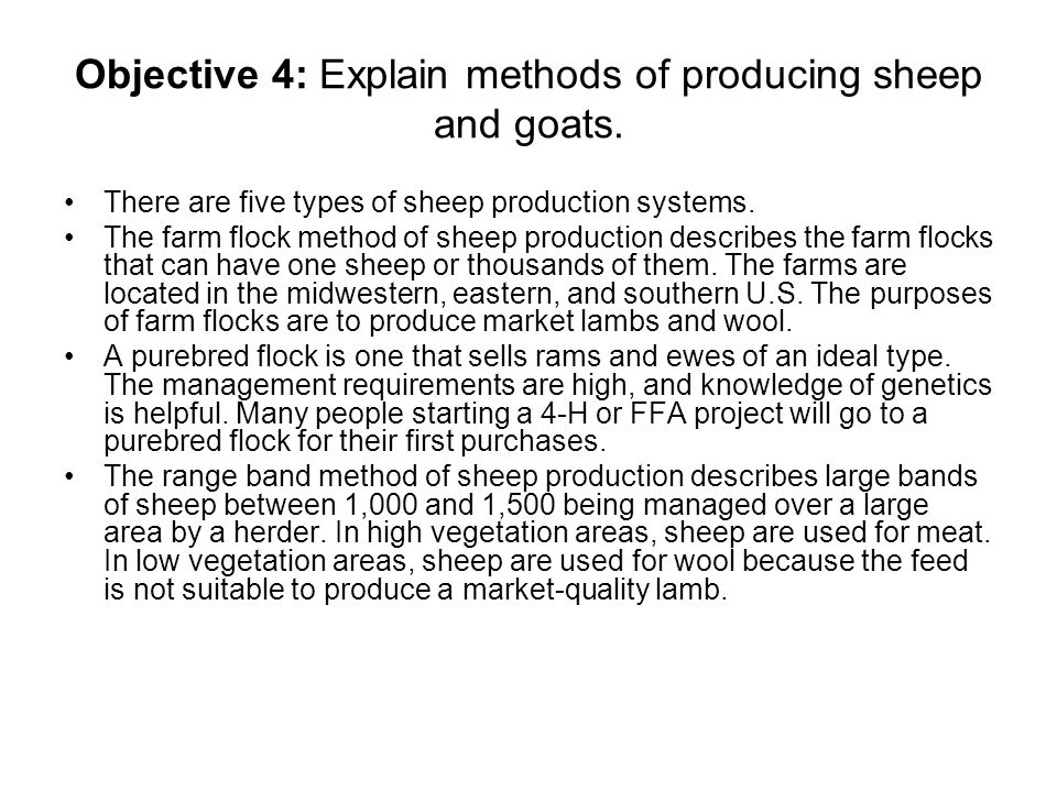 sheep and goat production and management pdf