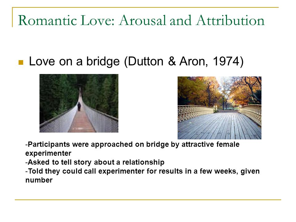 DUTTON AND ARON (1974) Flashcards | Quizlet