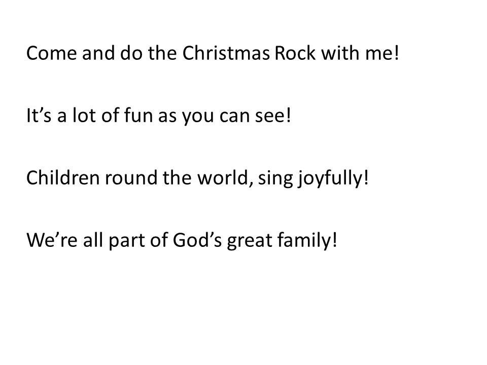 Song 1: Do the Christmas Rock! - ppt download