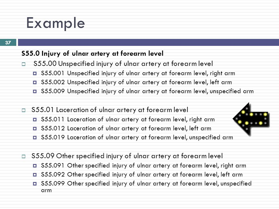 Left Arm Injury Icd 10 | CINEMAS 93